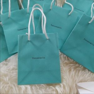 Tiffany & Co. gift bags